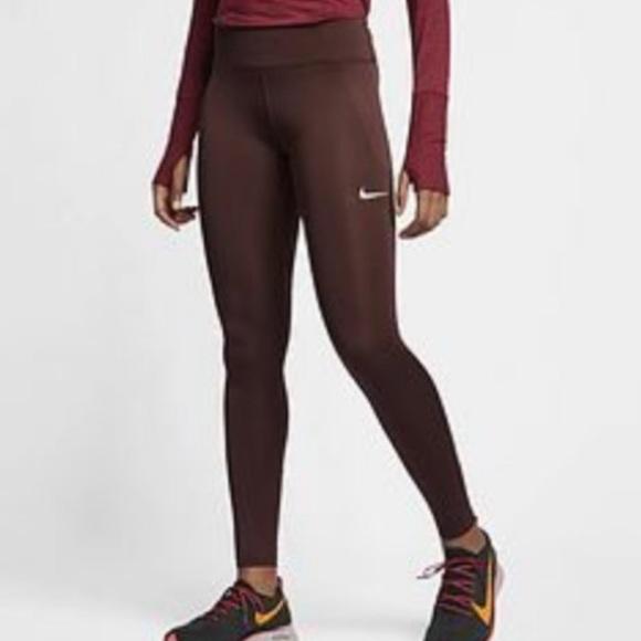 Comedia de enredo Una noche Automático  Nike Pants & Jumpsuits   Nike Fast Tights El Dorado   Poshmark